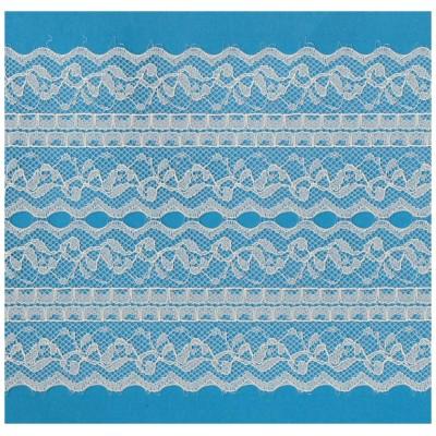 Raschel lace ribbon  width cm.14 pack mt.20 art.1205279