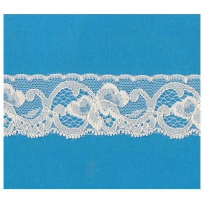 Raschel lace ribbon  width cm.3.8 pack mt.20 art.1003021