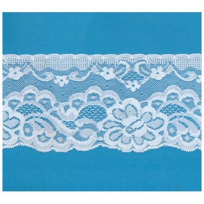 Raschel lace ribbon  width cm.7.5 pack mt.20 art.1001416