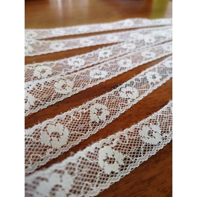 Raschel lace ribbon  width cm.1.5 pack mt.20 art.1202245