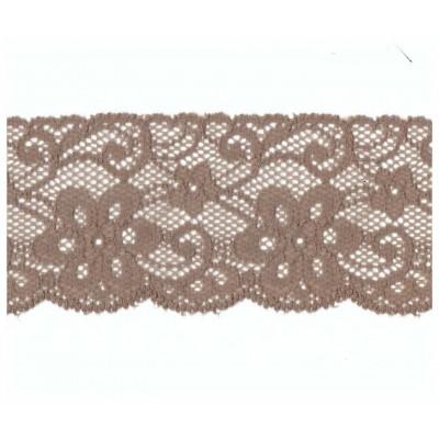 Encaje de nylon elastico altura cm.5.5 paquete mt.20 art.1018021