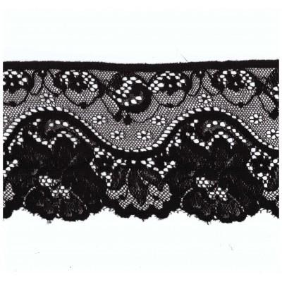 Raschel lace ribbon  width cm.10.5 pack mt.20 art.1003075
