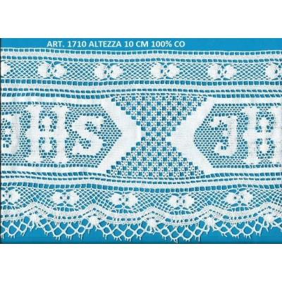 Cotton religious lace trim width cm.19 pack mt.10 Art.1710