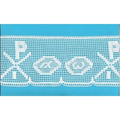 Cotton religious lace trim width cm.13 pack mt.10 Art.1850