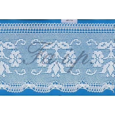 Cotton religious lace trim width cm.16 pack mt.10 Art.1716