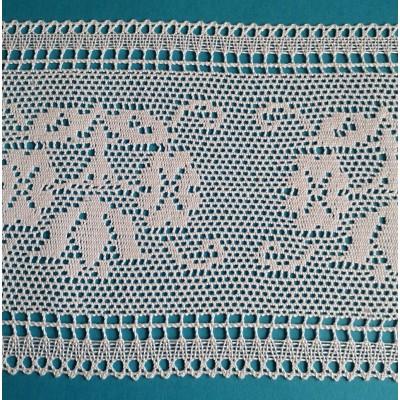 dentelle religieux coton hauteur cm.16 paquet mt.10 art.1717