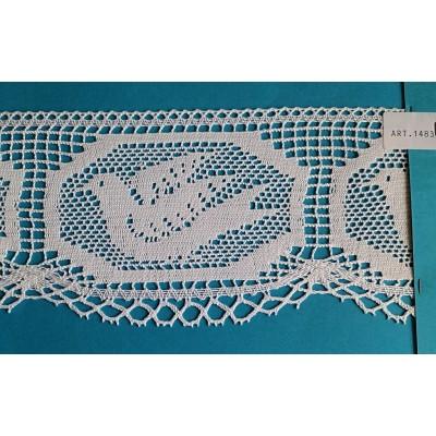 Cotton Religious Lace trim width cm.10 pack mt.10 Art.1483