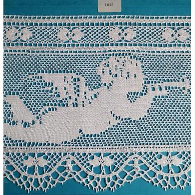 Cotton Religious Lace trim width cm.19 pack mt.10 Art.1619