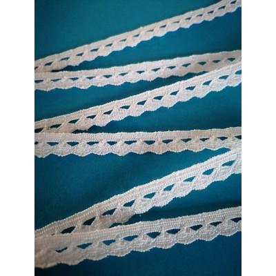 Cotton Lace Trim Cluny Torchon width cm.1 pack mt.10 Art.0378