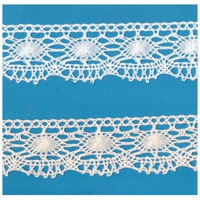 Cotton Lace Trim Cluny Torchon width cm.5 pack mt.10 Art.0478