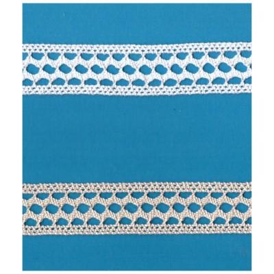 Cotton Edge Lace Trim Cluny Torchon width cm.3 pack mt.10 Art.1532