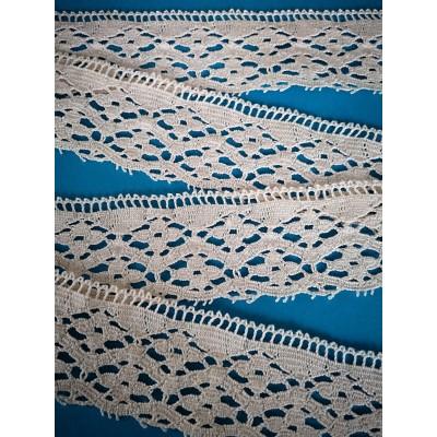 Dentelle Fuseaux Coton largeur cm.5 mt.10 Art.0958
