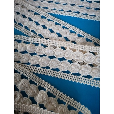 COTTON LACE RIBBON WIDE CM.5 PACK MT.10 ART.0428