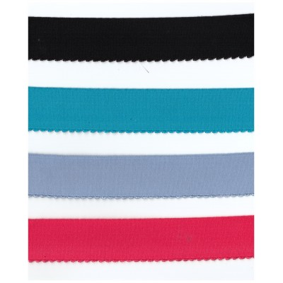 Scalloped Elastic band stretch ribbon width mm.30 pack. mt.50
