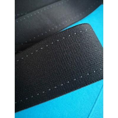 Ruban elastique bande noir largeur mm.45 paquet mt.50