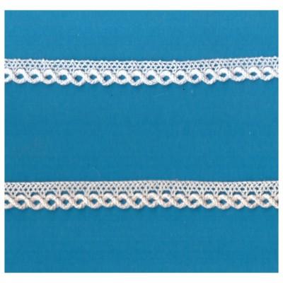 Cotton Lace Trim Scalloped Ribbon Width cm.1 pack mt.10 art.1454