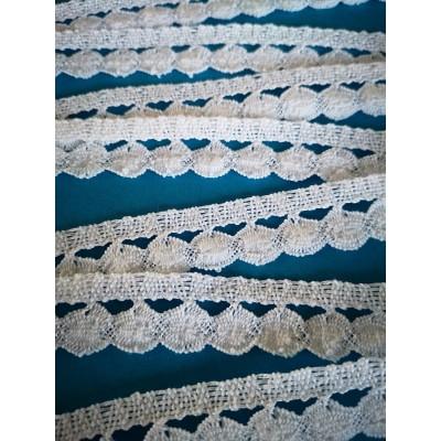 Cotton Lace Trim Cluny Torchon width cm.2 pack mt.10 Art.1369