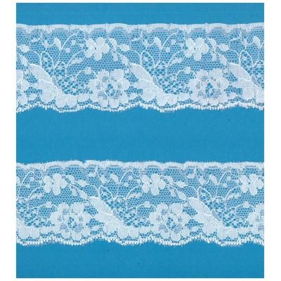 Raschel lace ribbon width cm.6.5 pack mt.20 art.1003829