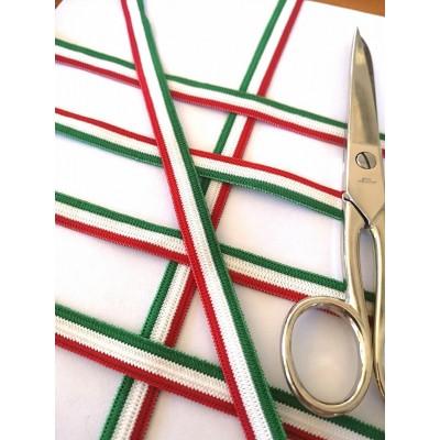 Ruban elastique tricolor drapeau italienne