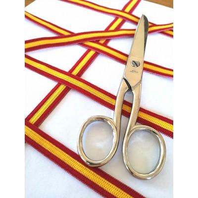 Cintas elastica tricolor espana altura mm.11 paquete mt.20