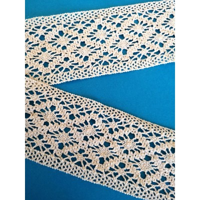 Dentelle Fuseaux Coton largeur cm.6 mt.10 Art.0612