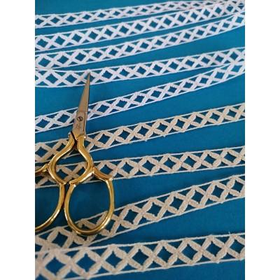 Cotton Lace Edge Trim Cluny Torchon width cm.1 pack mt.10 Art.0489