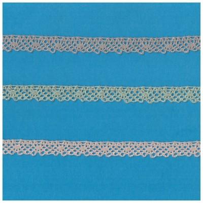 Dentelle Coton Ruban hauteur cm.1 paquet mt.10 Art.0991