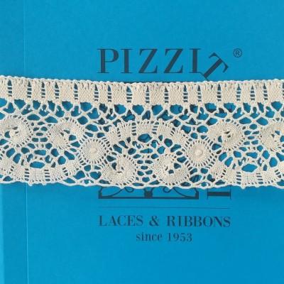Pizzo a Tombolo Smerlato chicchierino Altezza cm.7,5 Pezza mt.10 Art.1698