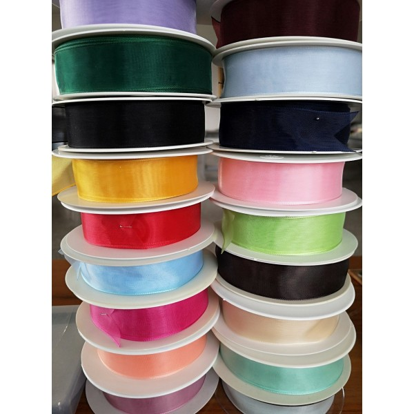 Organza Ribbon Favors Height mm.25 Packaging MT.25