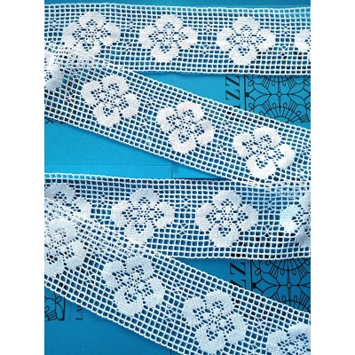 Cotton Lace Trim Cluny Torchon Edged width cm.9 pack mt.10 Art.1471