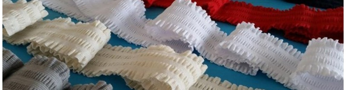 ELASTIC CROCHET RIBBONS